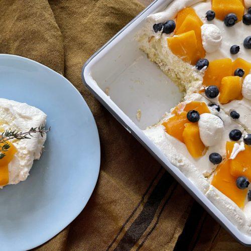 マンゴーのショートケーキ(手抜き)